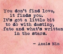 anais nin, destiny, fate, hope, life, love, quote, stars
