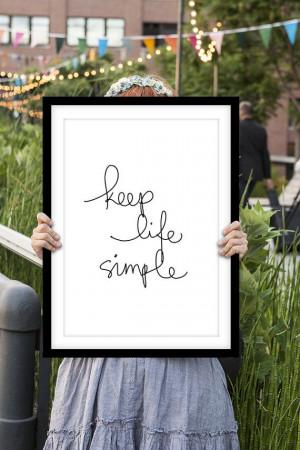 Inspirational Print Motivational Quote