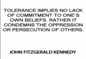 JFK on Tolerance John F Kennedy Quotes StarlaAsher.com