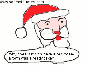 What do you call people who are afraid of Santa Claus? Claustrophobic.