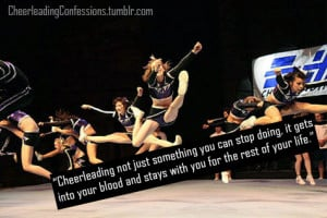 76 Cheerleading Flyer Quotes Picture