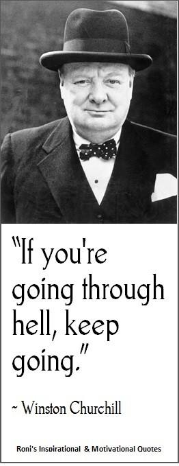 Winston Churchill You Are...