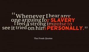 Slavery-Quotes