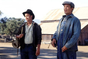 The true friendship of lennie and george in of mice and men by john steinbeck
