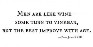 wine quote pope john