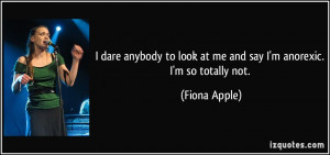anorexic quotes