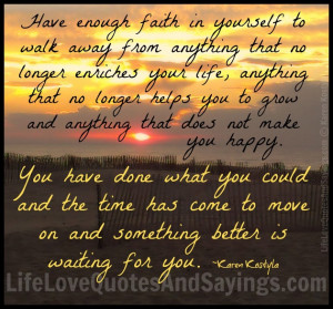 Faith Quotes About Life And Hope: Have Enough Faith In Yourself This ...
