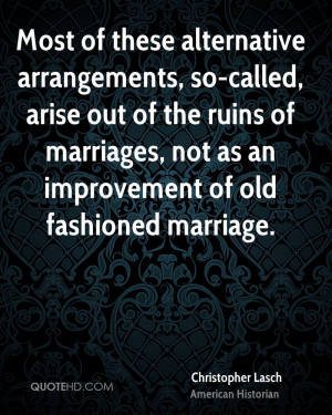 Christopher Lasch Marriage Quotes