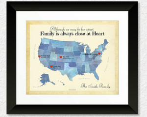 ... for Grandparents, Moving Away Gift, Family Quote, Gift for Friends