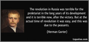 Quotes About the Russian Revolution
