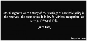 More Ruth First Quotes