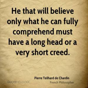 Pierre Teilhard de Chardin Quotes
