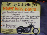 Motorcycle Quotes Country Signs - Motorcycle humor with biker quotes ...