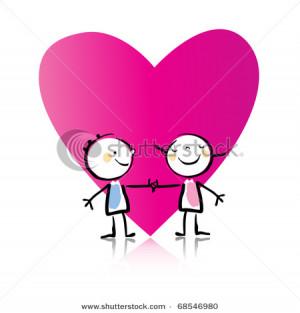... cartoon people in love cartoon romantic people in old people love