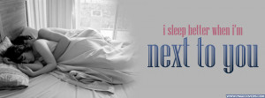 Sleep Better When Im Next To You Cover Comments