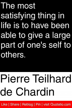 ... to give a large part of one s self to others # quotations # quotes
