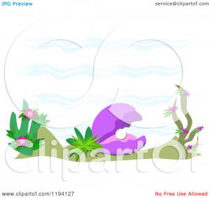 Cartoon Ocean Plants Picture