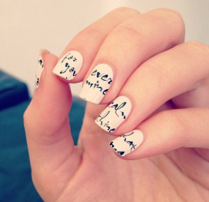 Nail Quotes Nail art ideas quotes