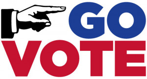 regardless of who you vote for just go vote