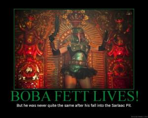More like Booba Fett, the Ultimate poser.