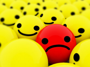 Smiley Face And sad Face