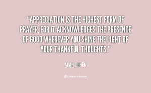 quotes about gratitude appreciation is the highest form of prayer