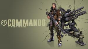 Borderlands 2 Commando Wallpaper by CodyAWilliams
