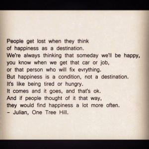 Julian # One Tree Hill