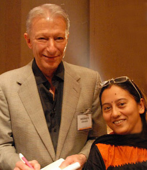 Werner Erhard - India, November 2010