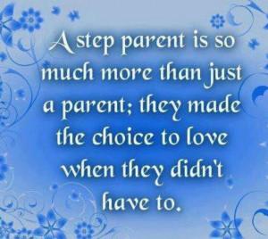 Step parent quote | Parenting