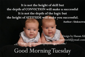 Good Morning Tuesday.. Inspiring Thoughts for the day