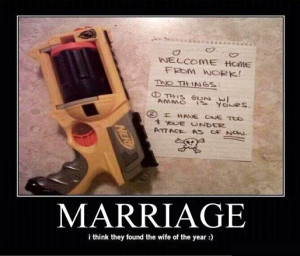 Marriage I Think Found The Wife For The Year - Funny Quotes
