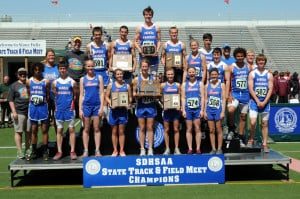 Girls And Boys Track Teams
