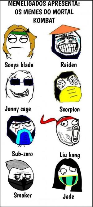 Memes no Mortal Kombat