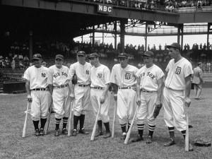 Lou Gehrig, Joe Cronin, Bill Dickey, Joe DiMaggio, Charlie Gehringer ...