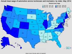 49-3023 Automotive Service Technicians and Mechanics