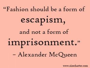 alexander mcqueen quotes
