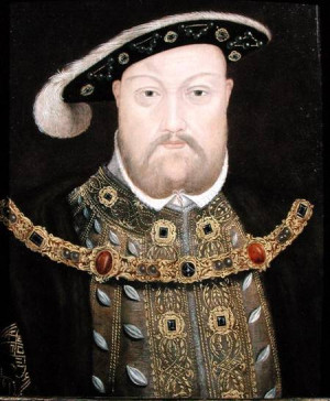 ... de la imágen English School - Portrait of King Henry VIII (1491-1547
