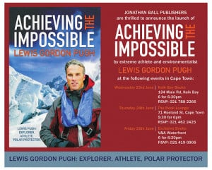 Cape Town Book Launches: Achieving the Impossible by Lewis Gordon