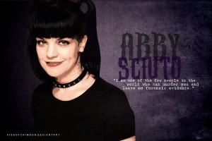 Pauley Perrette/Abby Sciuto #8 - Because she is the Energizer bunny of ...