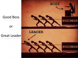 Good boss or great leader