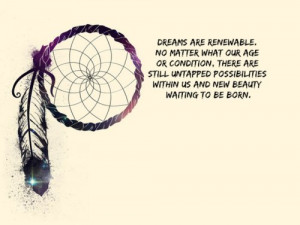 dream, dreamcatcher, quote