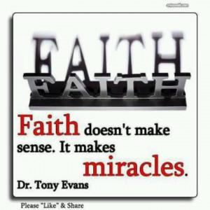 Faith and miracles