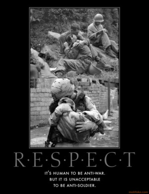 Veterans Respect Quotes Quotesgram