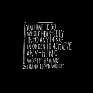 Great quote and pinterest find, originally from here.