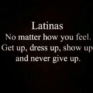 Latinas! :-) me and Ali just talked about this