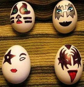 Will's Decorated Easter Egg Pictures