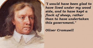 Oliver cromwell famous quotes 5