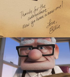 picture is from the movie UP by Disney/Pixar