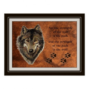 Wolf Pack Quotes Original_watercolor_wolf_pack_ ...